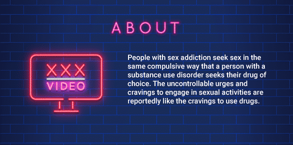 about sex addiction infographic