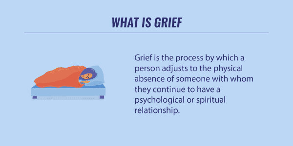 what is grief infographic