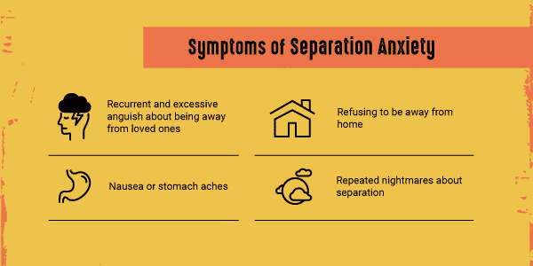 symptoms of separation anxiety IG