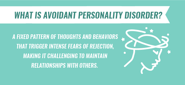 what is avoidant personality disorder infographic